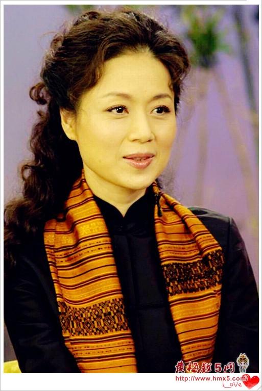 黄梅戏表演艺术家马兰近照